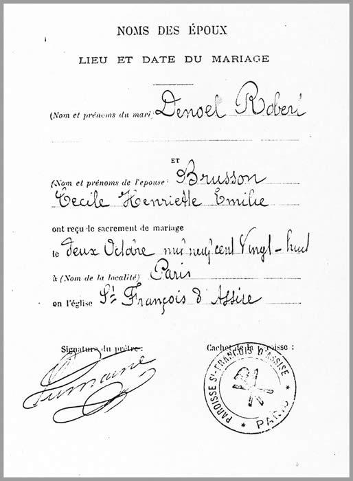 Chronologie Robert Denoël - année 1928