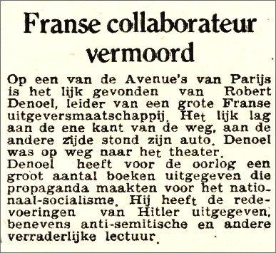De Waarheid (Amsterdam),  4 décembre 1945