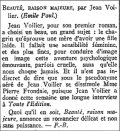 L'Echo de Paris,  3 avril 1936